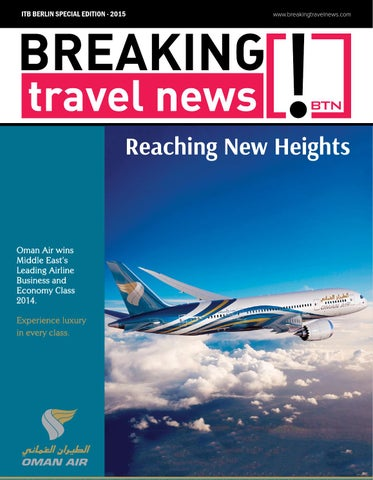 Breaking Travel News Special Edition - ITB Berlin 2015