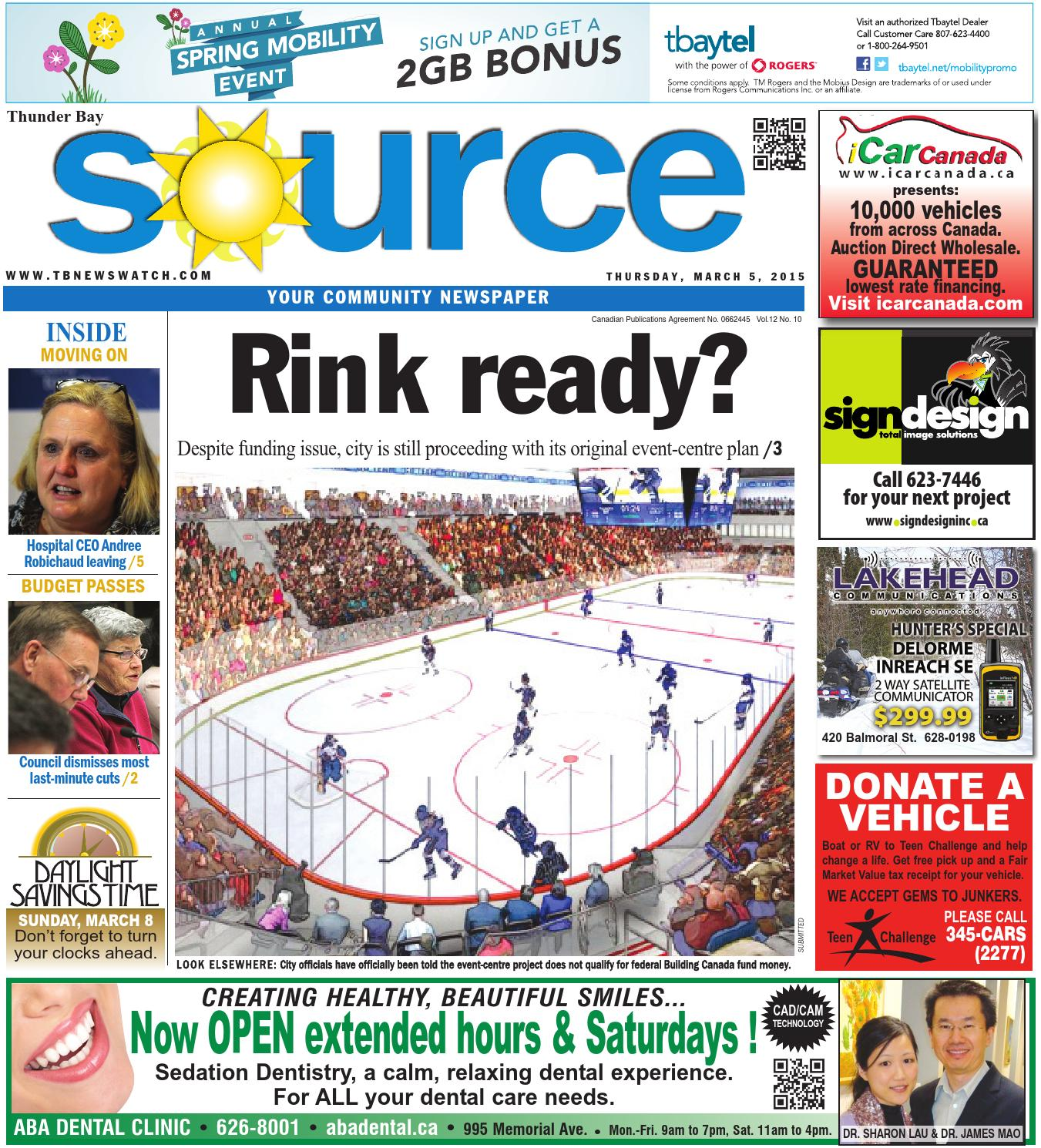 March 5 2015 Source By Thunder Bay Source Issuu
