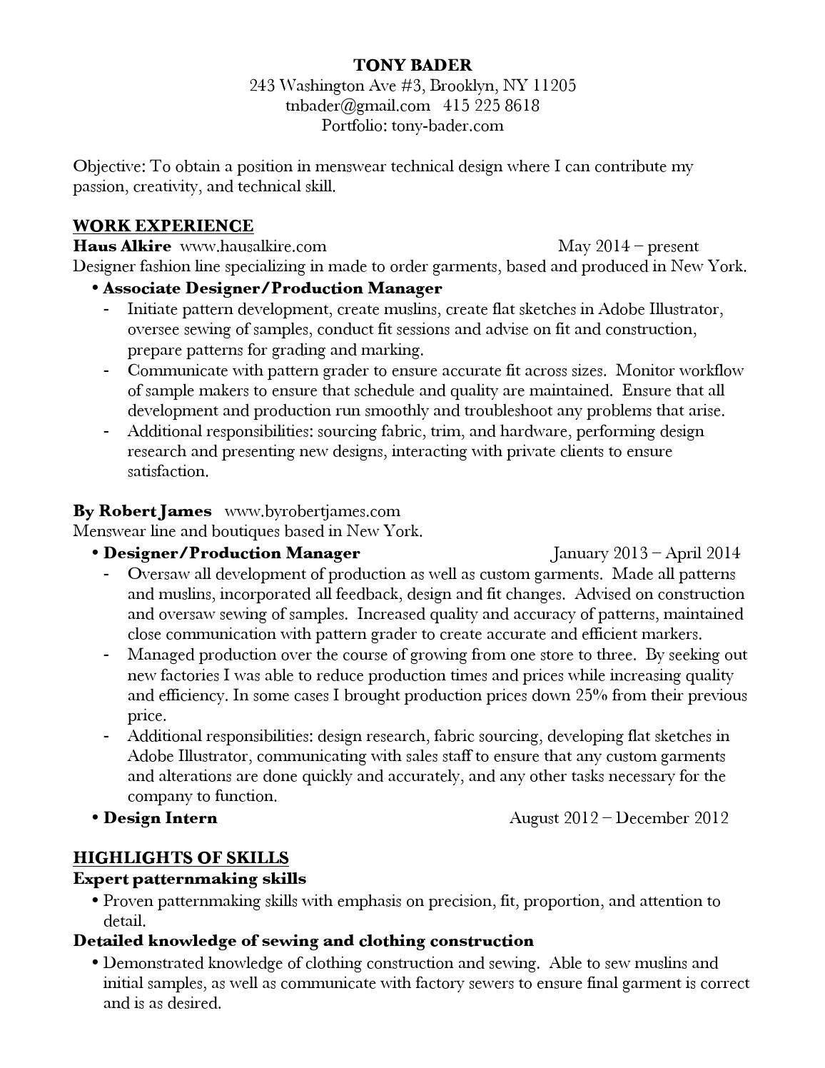 tb resume by rorkebader issuu