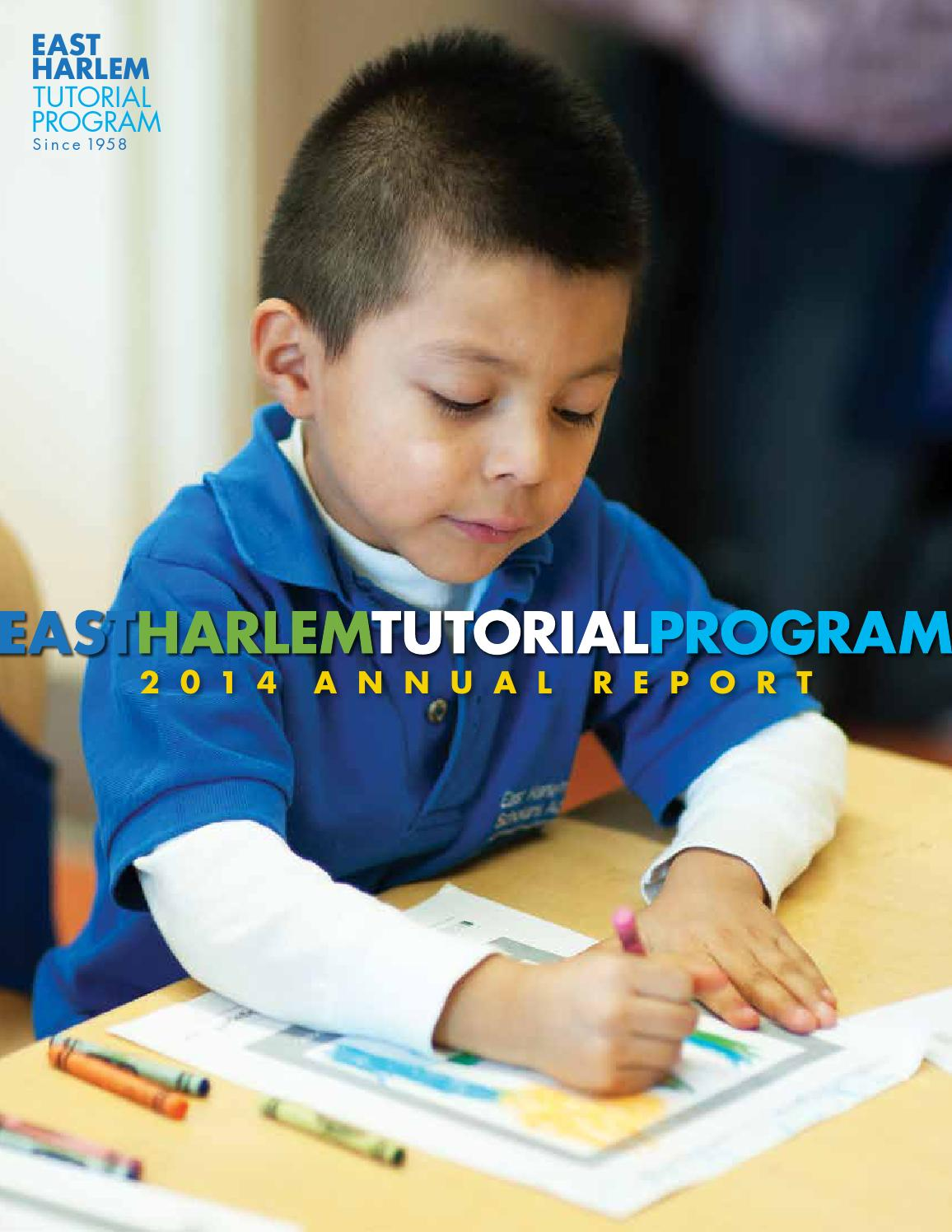 annual report by east harlem tutorial program issuu