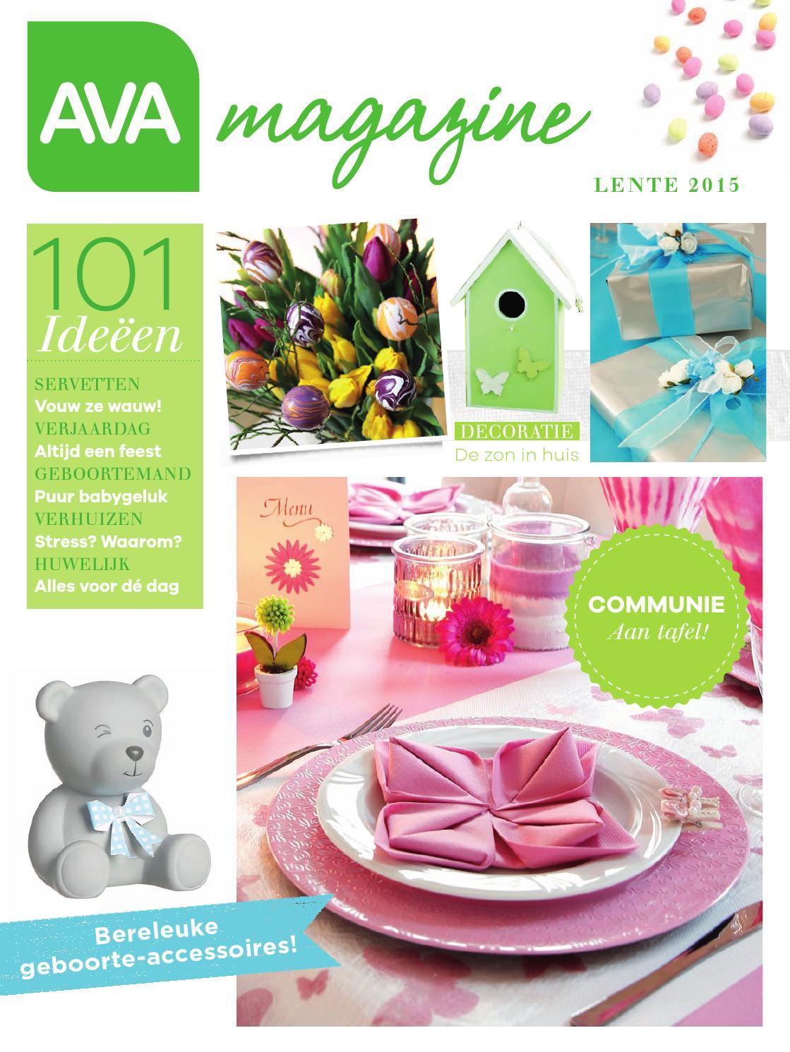 Ava magazine 2015 maart nl by ava nv issuu - Decoratie eenvoudig voor het leven ...