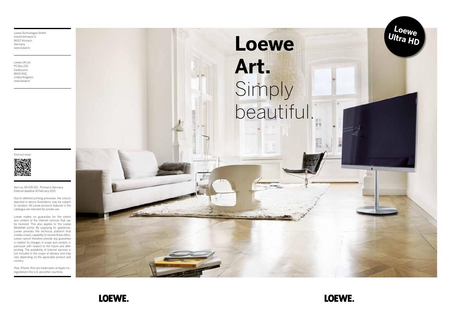loewe art en by loewe issuu. Black Bedroom Furniture Sets. Home Design Ideas