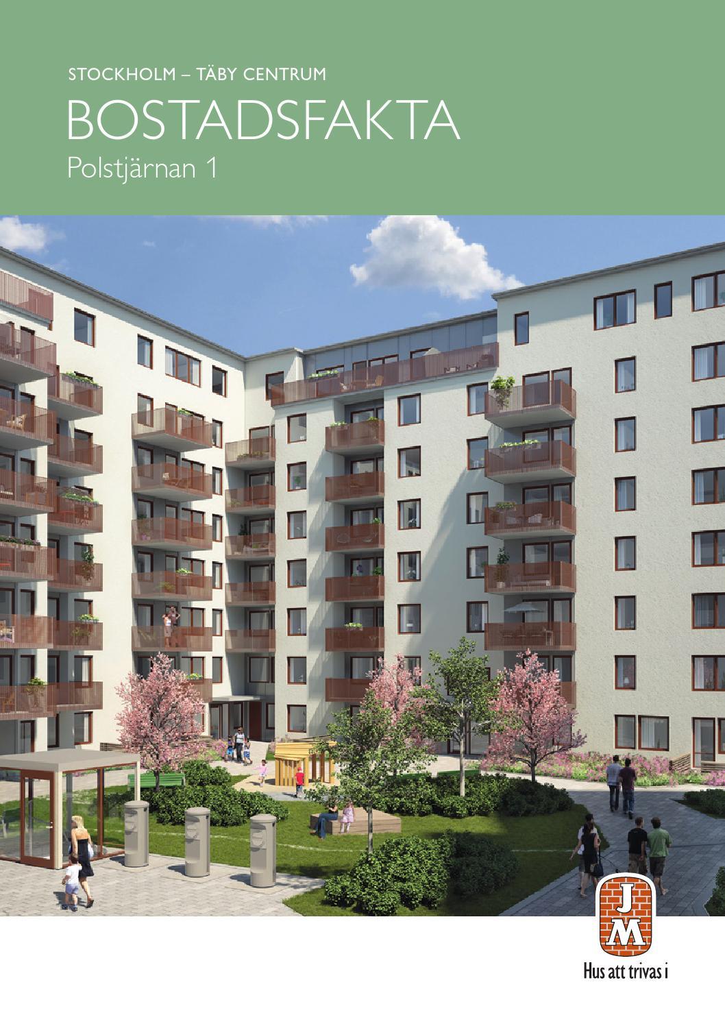 Jm, stockholm: täby centrum   polstjärnan. bostadsfakta by jm ab ...