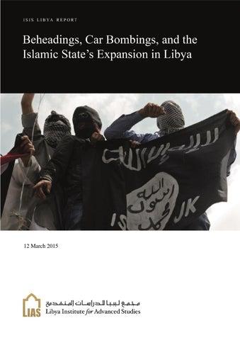 Terrorism in Libya Weekly Report