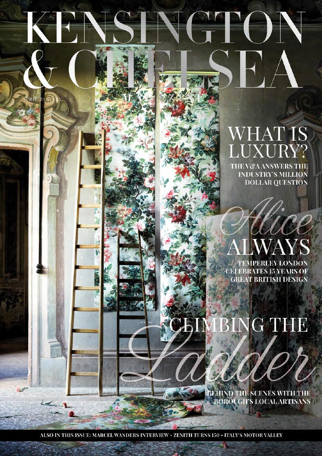 The Kensington Amp Chelsea Magazine April 2015 By Runwild