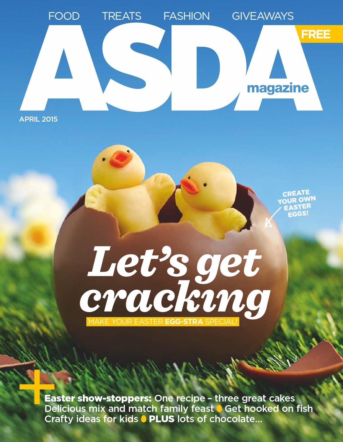 Asda Magazine April 2015 By Issuu