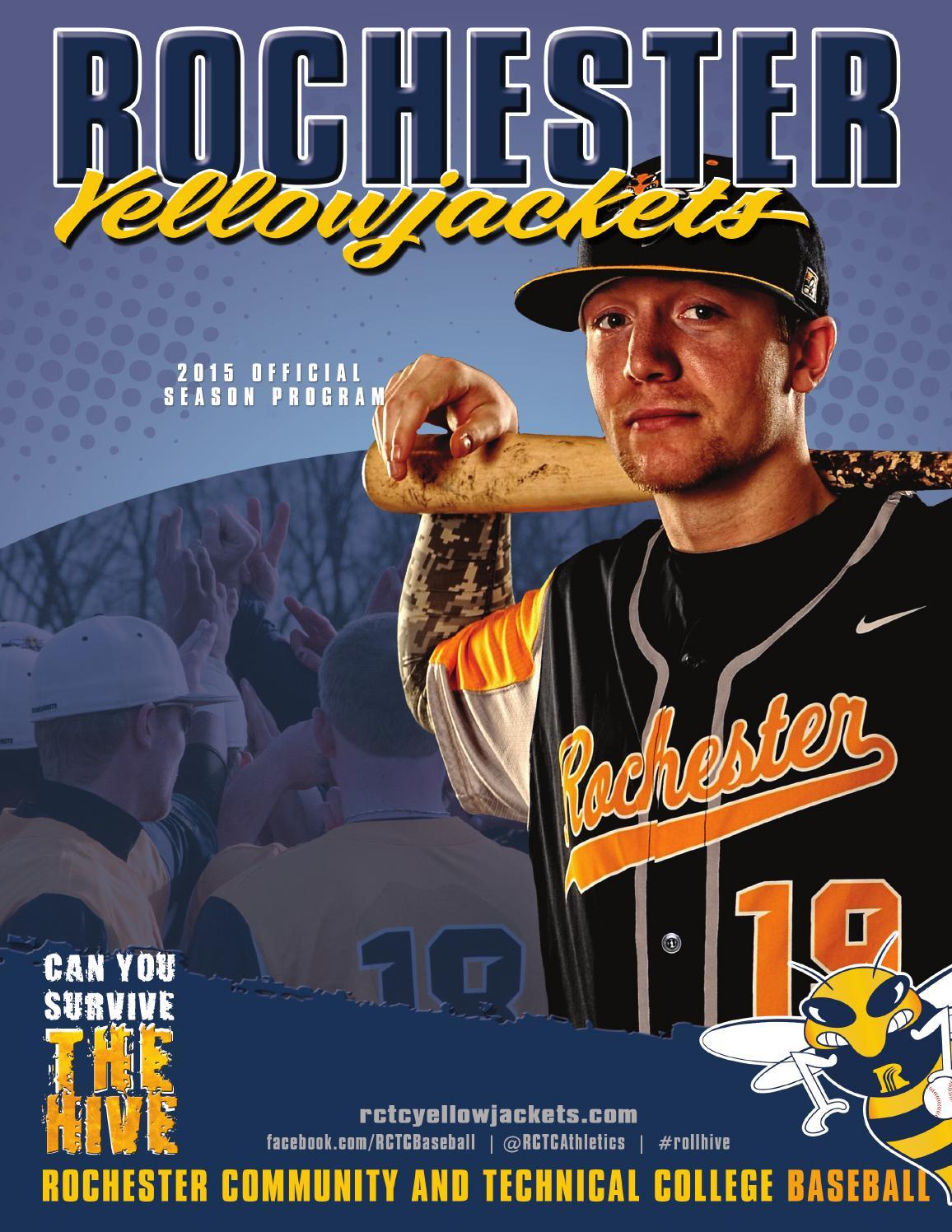 mens baseball 2012 by redlands community college issuu 2015 rctc baseball season program