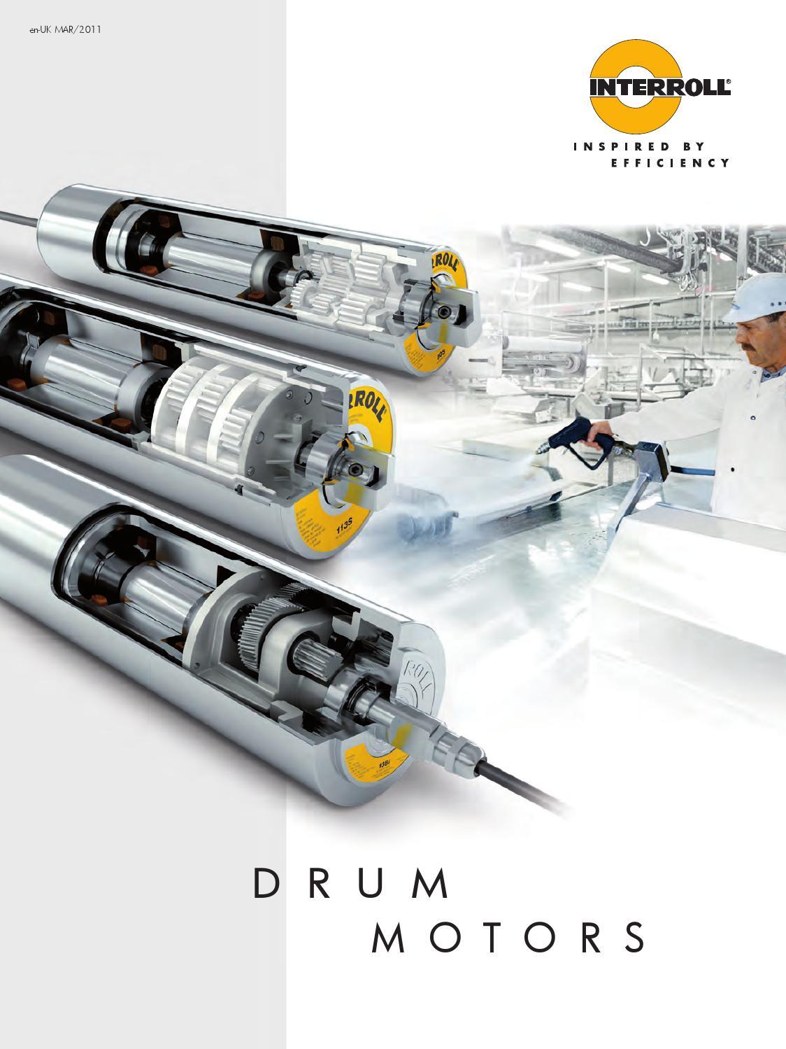 Interroll    Motorised Drums by Texam Limited  issuu
