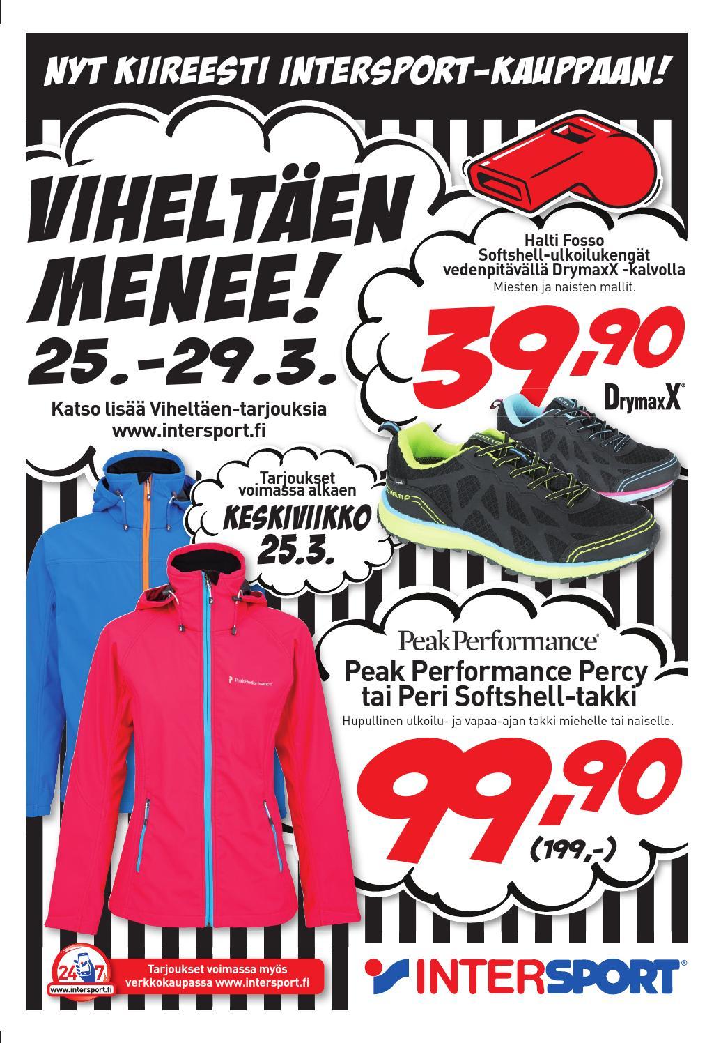 Viheltäen menee  by intersport finland page