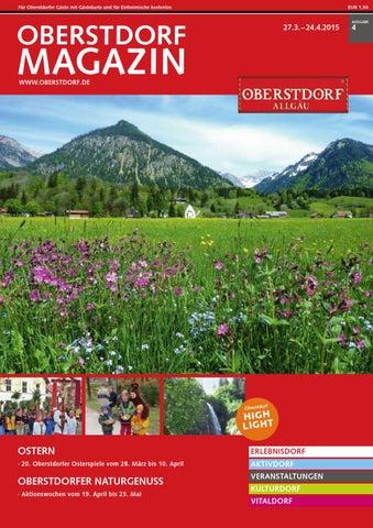 Oberstdorf Magazin 04/2015