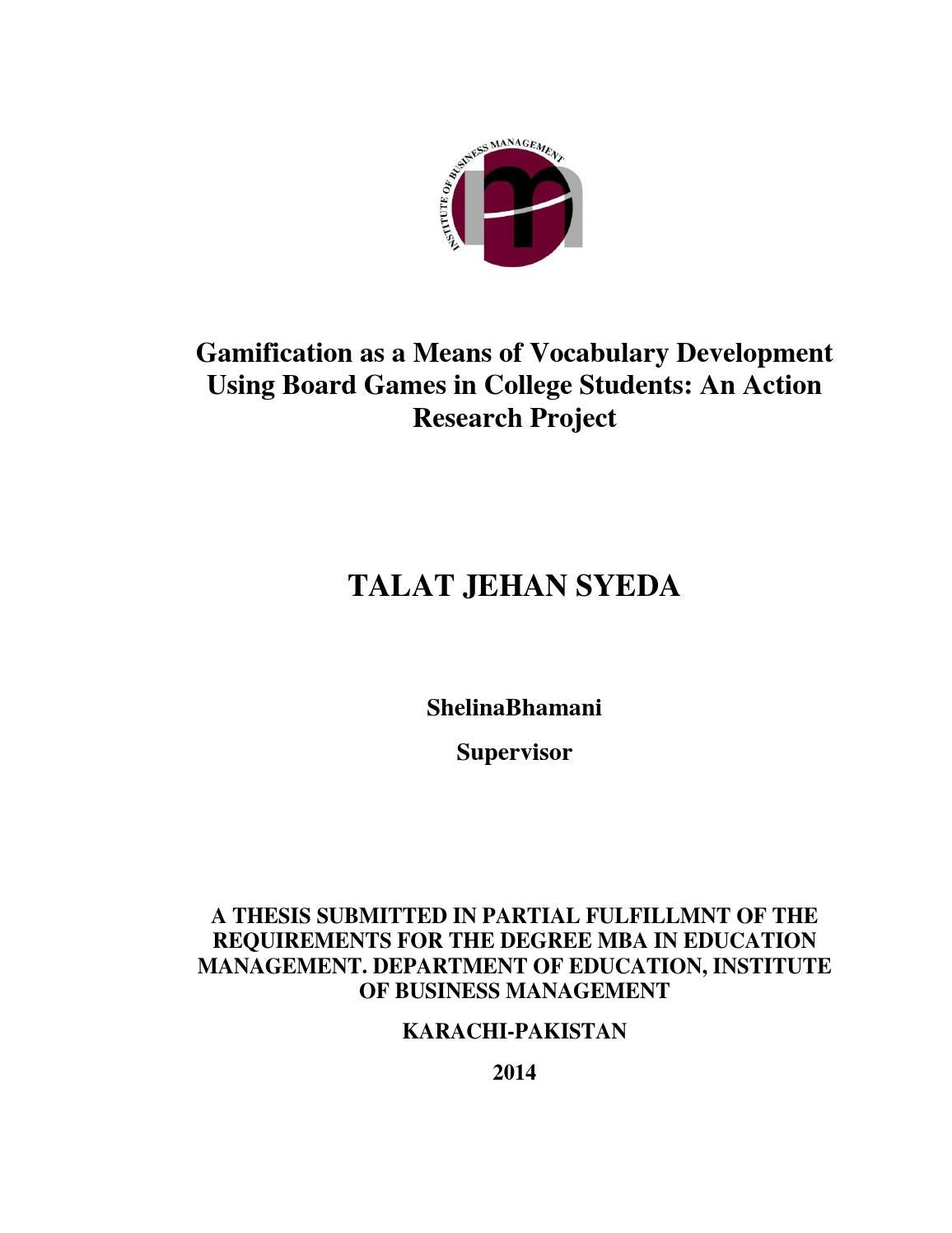mba thesis pakistan Thesis course class  mba: a study on pakistan pharmaceutical industry:factors affecting the growth and shift in marketing share from multinational to national 689.