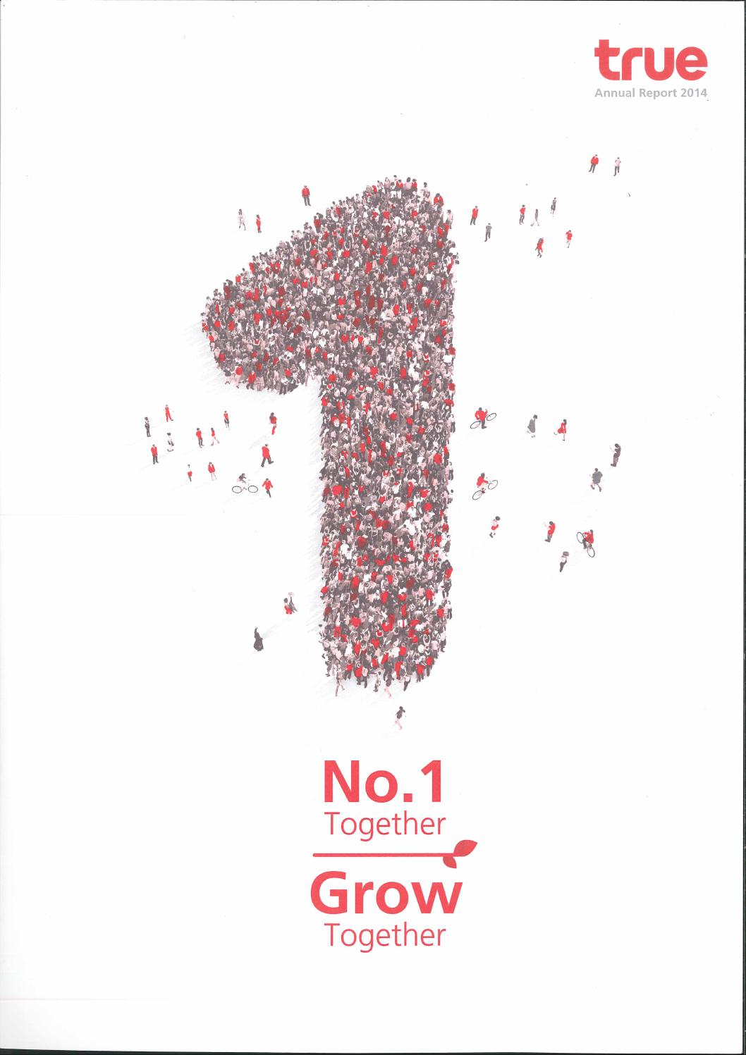 Toyota Financial Statement True Annual Report 2015 By True Corporation Public Company