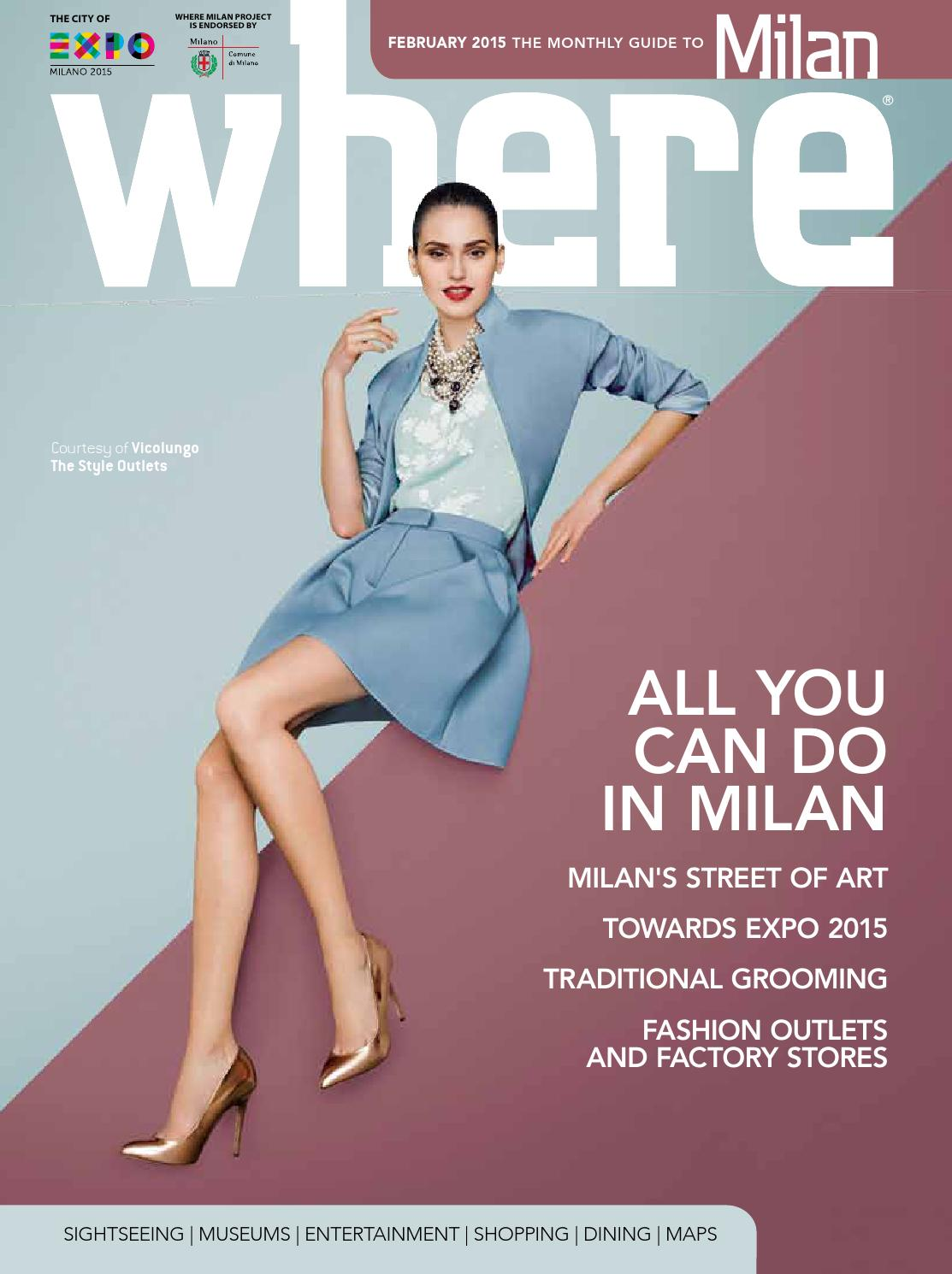 Where Milan n 56 June 2015 by Where Italia - issuu