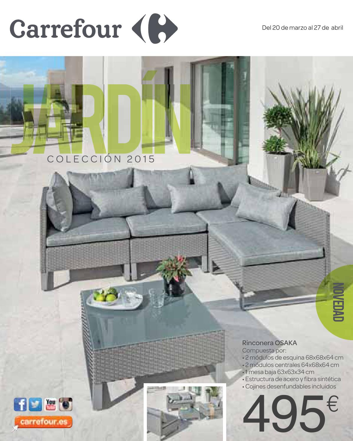 jardin 200315 by losdescuentos issuu On muebles de rafia para jardin