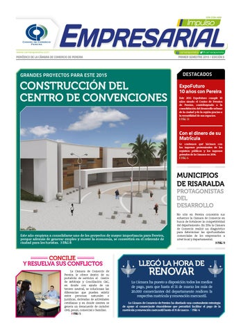 Periódico Impulso Empresarial edición 5 2015