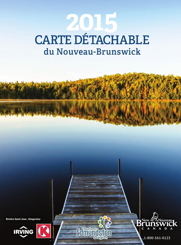Carte touristique du Nouveau-Brunswick by Official New