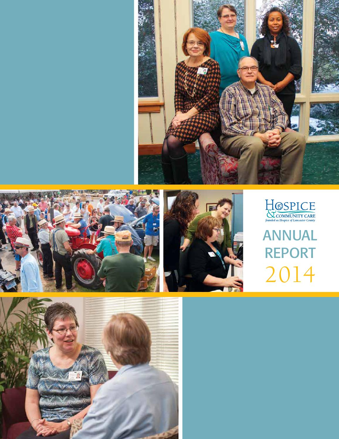 hcc annualreport by hospice community care issuu