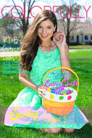 Colorfully Yours by The Red Dress Boutique Issue 2