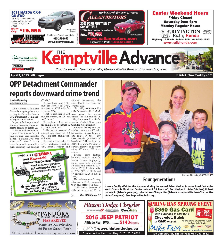 Myers Motors Kemptville Page