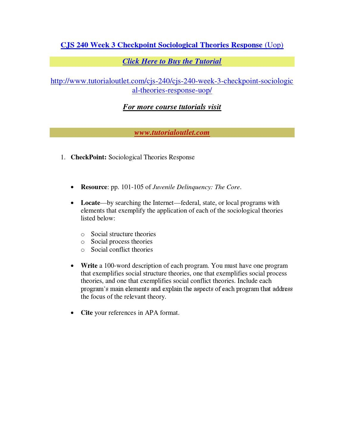 appendix d cjs 240 Check out our top free essays on cjs 240 appendix d to help you write your own essay.