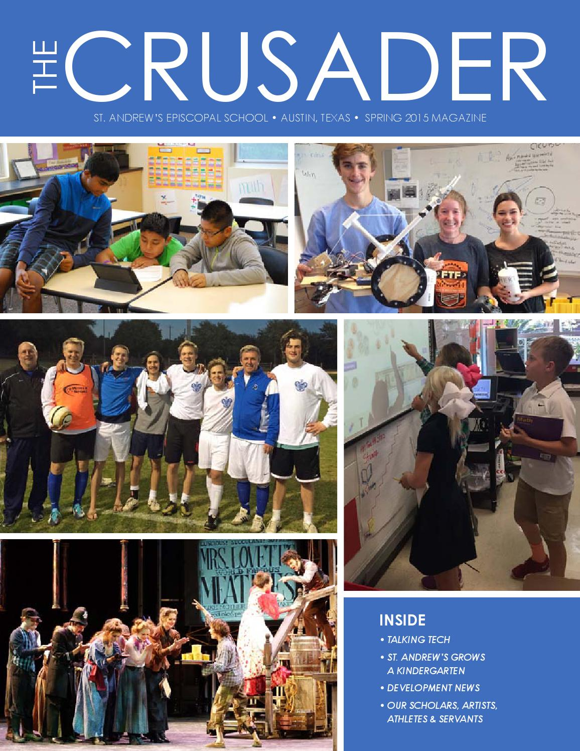 Crusader Magazine Spring 2015 By St Andrews Episcopal