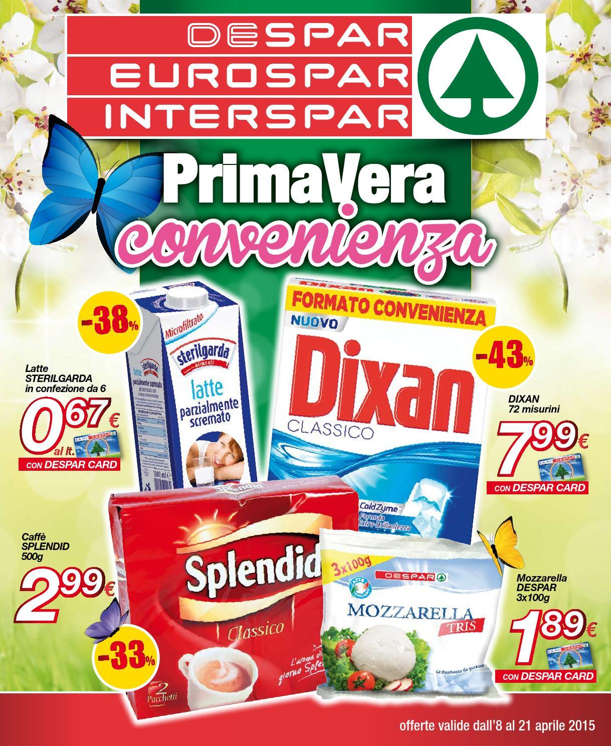Despar eurospar interspar volantino offerte 07 2015 by for Volantino offerte despar messina