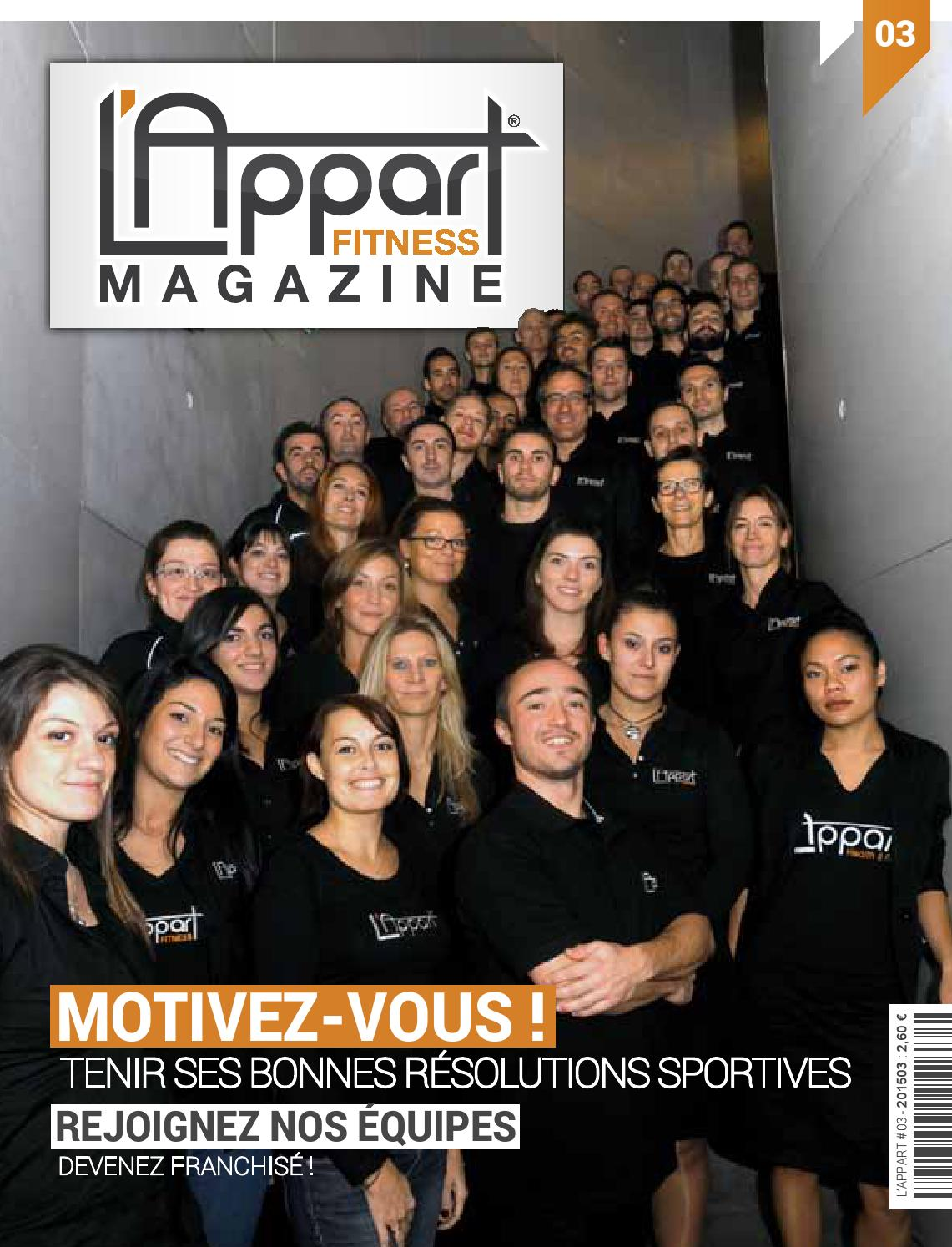 l 39 appart fitness magazine 03 by mog design issuu. Black Bedroom Furniture Sets. Home Design Ideas