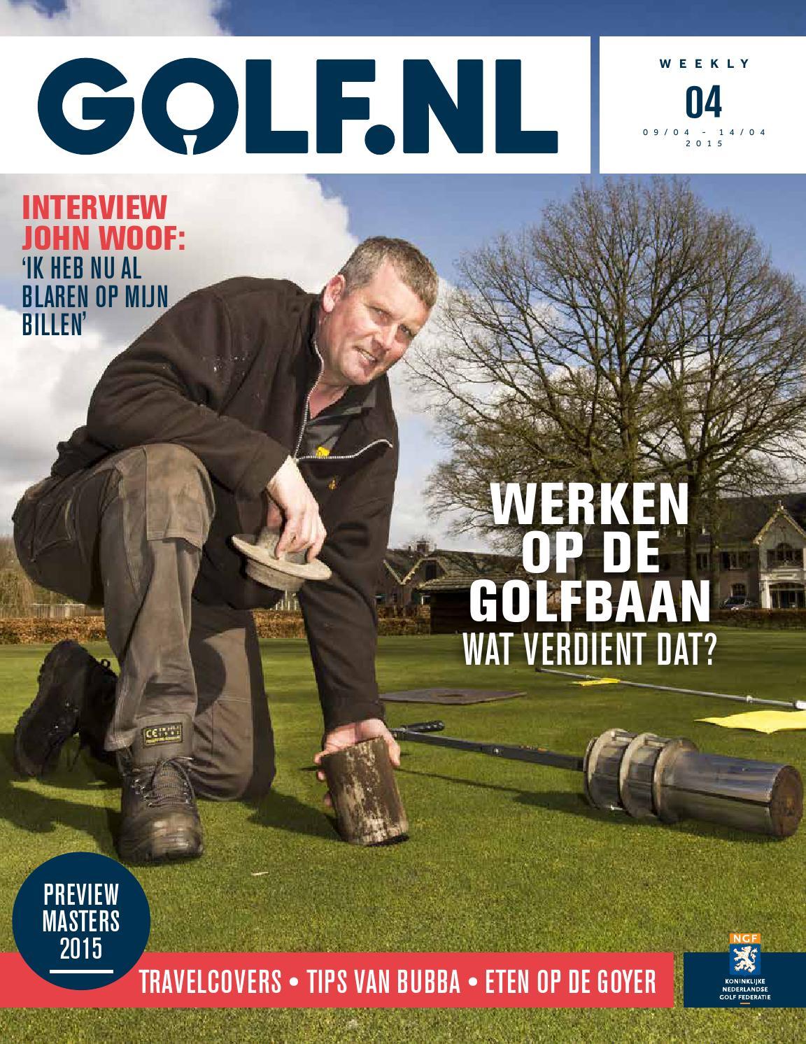 Golf.nl weekly 8 2016 by koninklijke nederlandse golf federatie ...