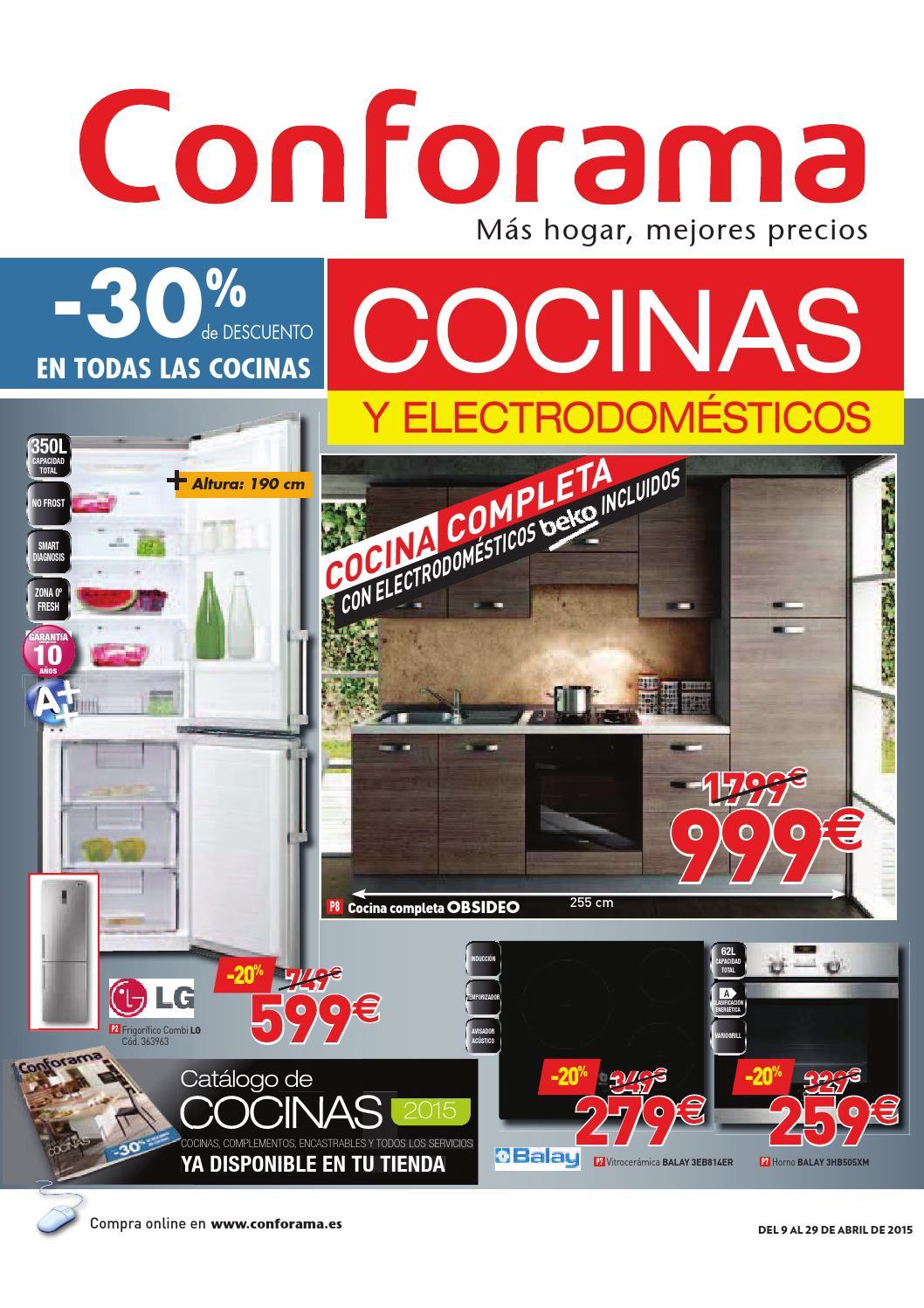 Conforama catalogo 9 29abril2015 by catalogopromociones - Nuevo catalogo de conforama ...