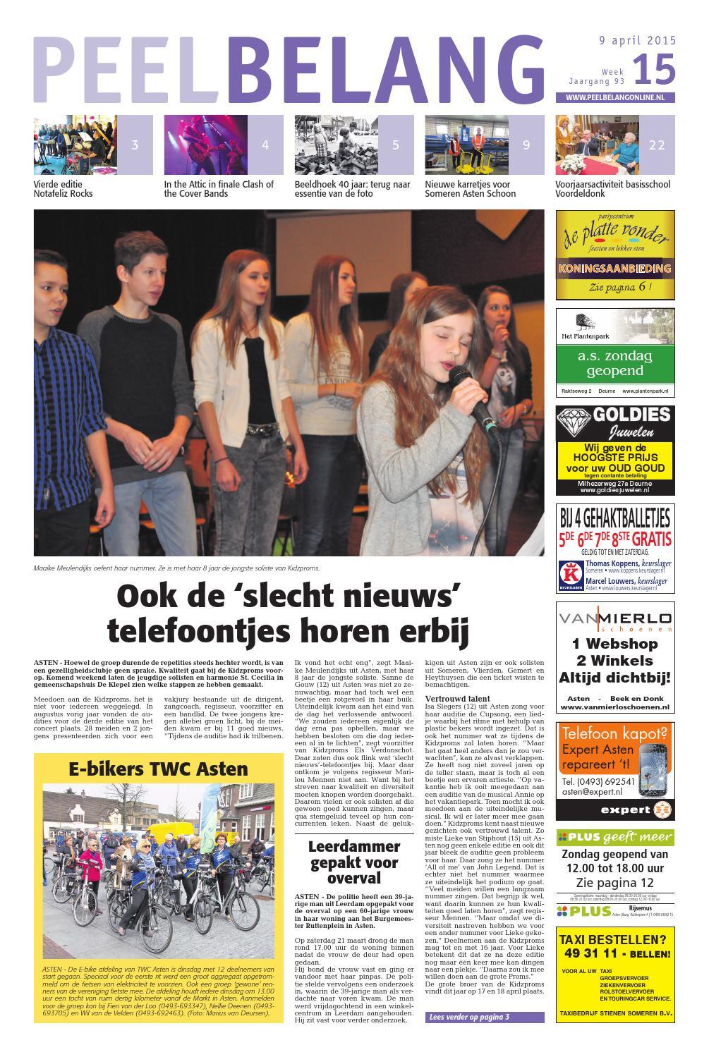 Weekblad voor deurne week 30 by das publishers!   issuu