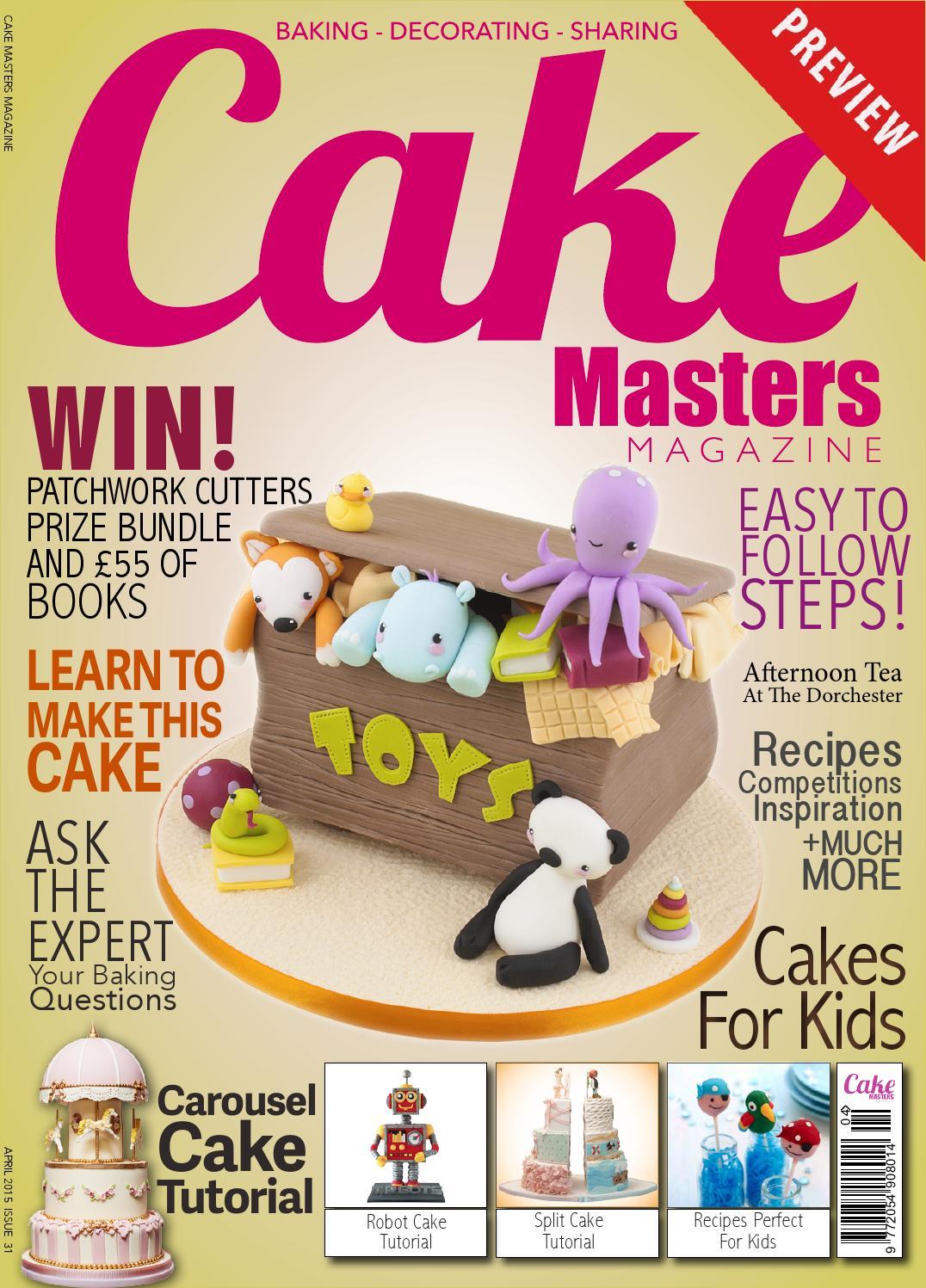 American Cake Decorating; A SUPAH Cool Cake Magazine