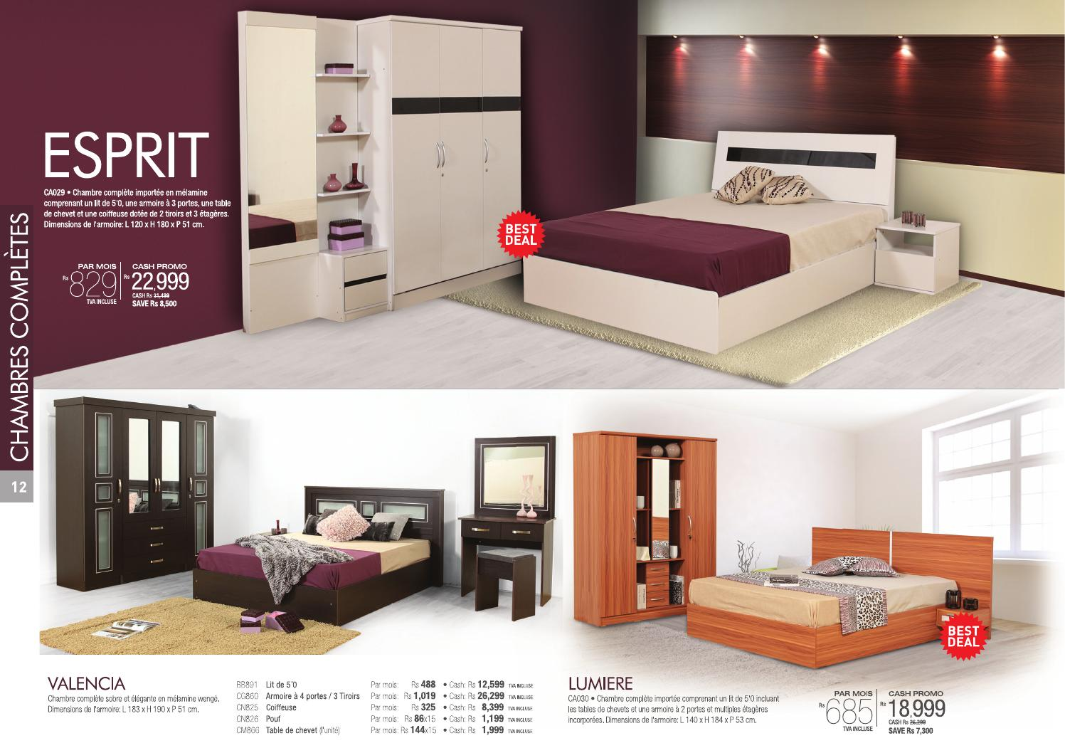 Courts mauritius furniture catalogue 2015 by dora can for Furniture catalogue