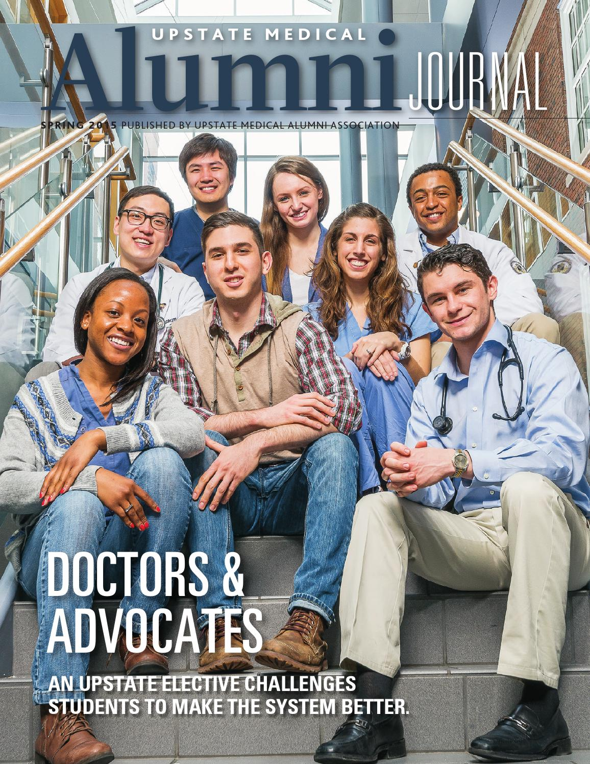 upstate medical alumni journal spring by kiefer creative issuu