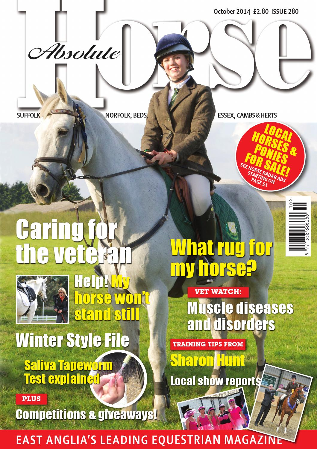 Absolute Horse October 2014 By Absolute Horse Magazine Issuu