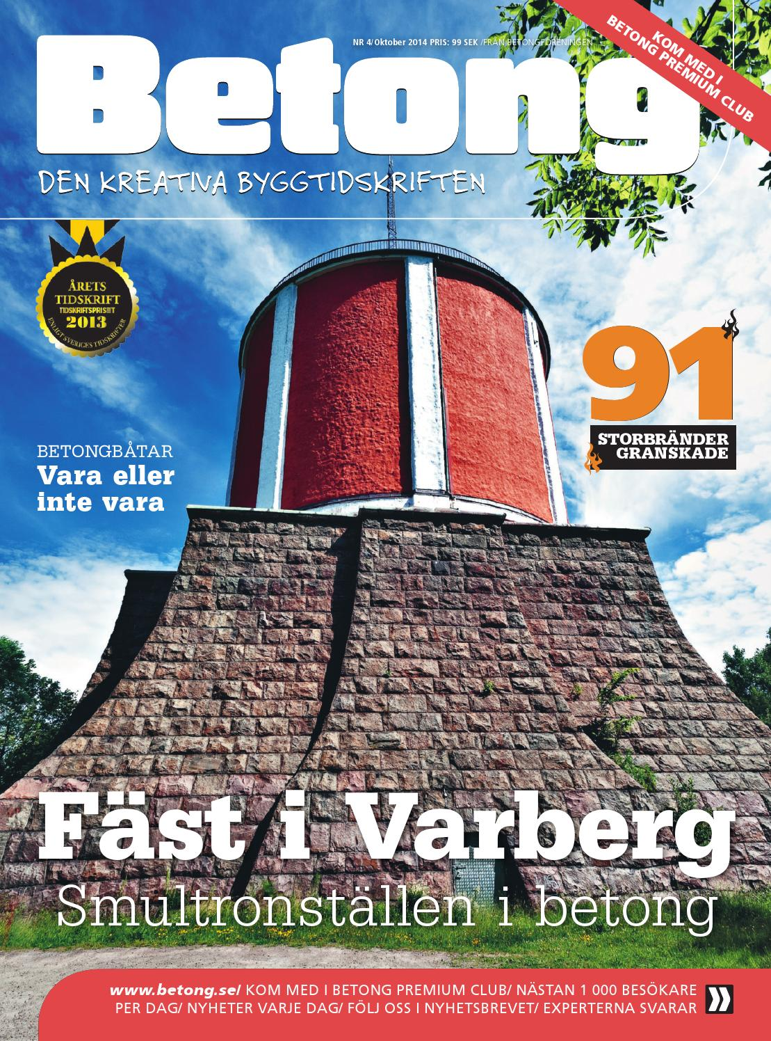 Tidskriften betong 1 2015 by tidskriften betong   issuu