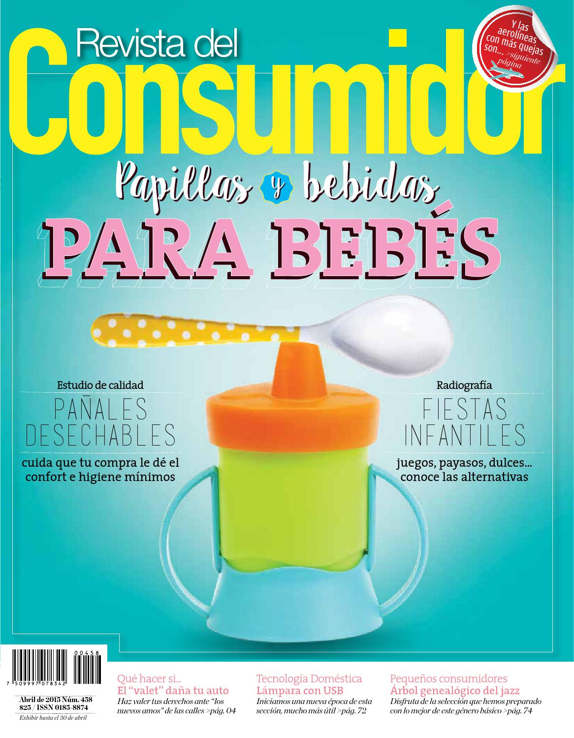 revista del consumidor edicion no 458 abril 2015 by profeco