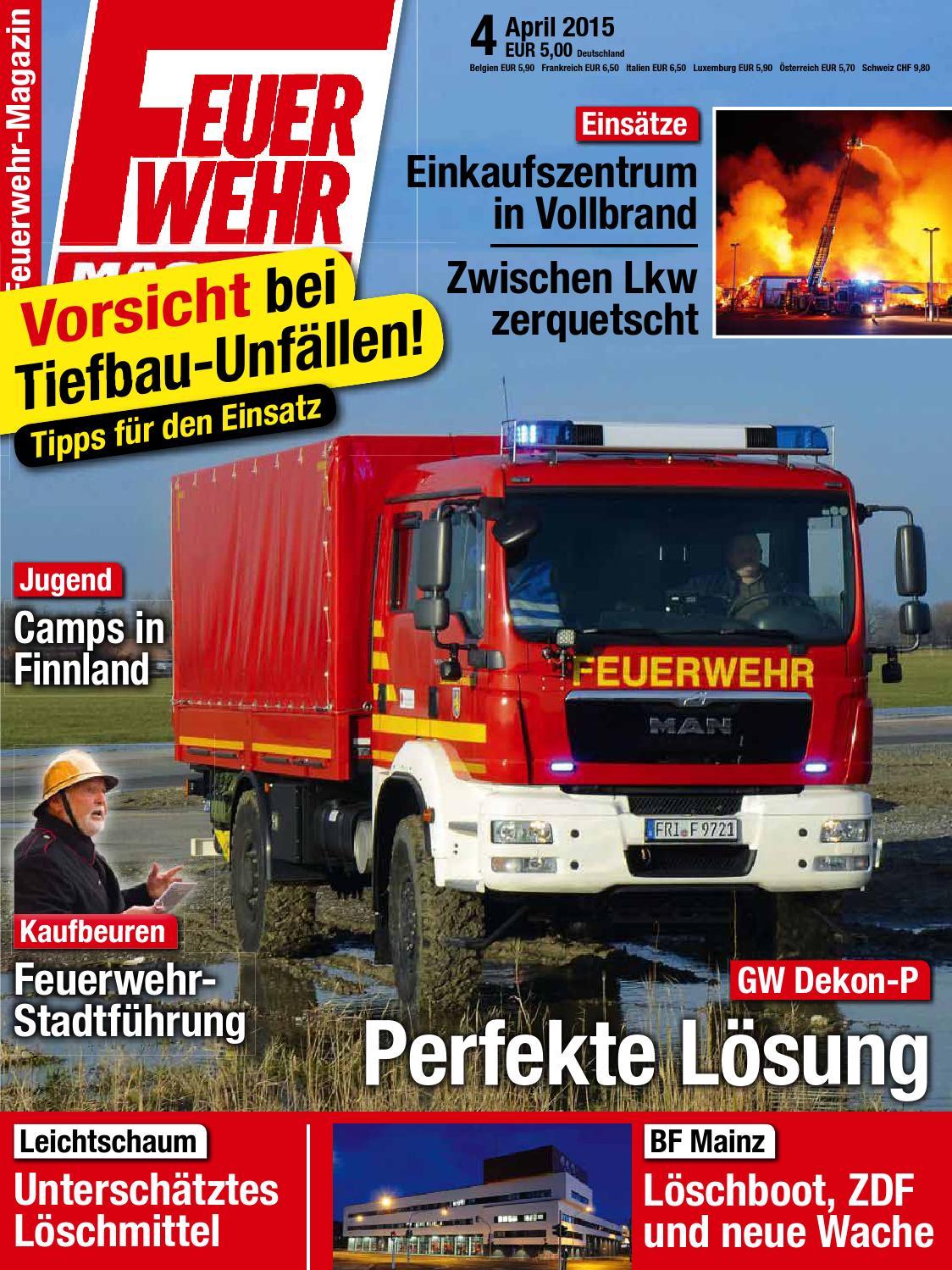 Feuerwehr magazin juni 06 2015 by Augusto Dantas - issuu