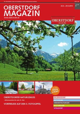 Oberstdorf Magazin 05/2015