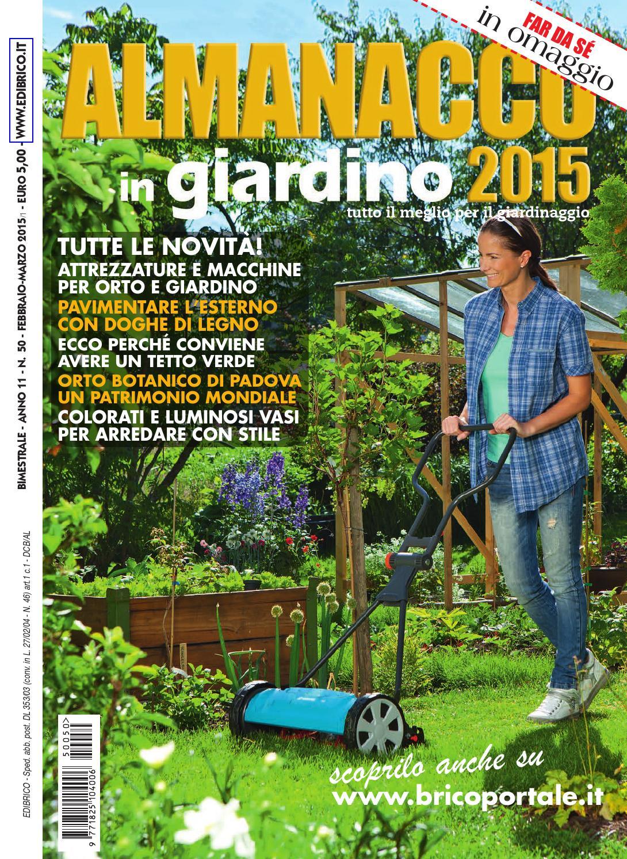 Almanacco in giardino 2016 by Edibrico - issuu