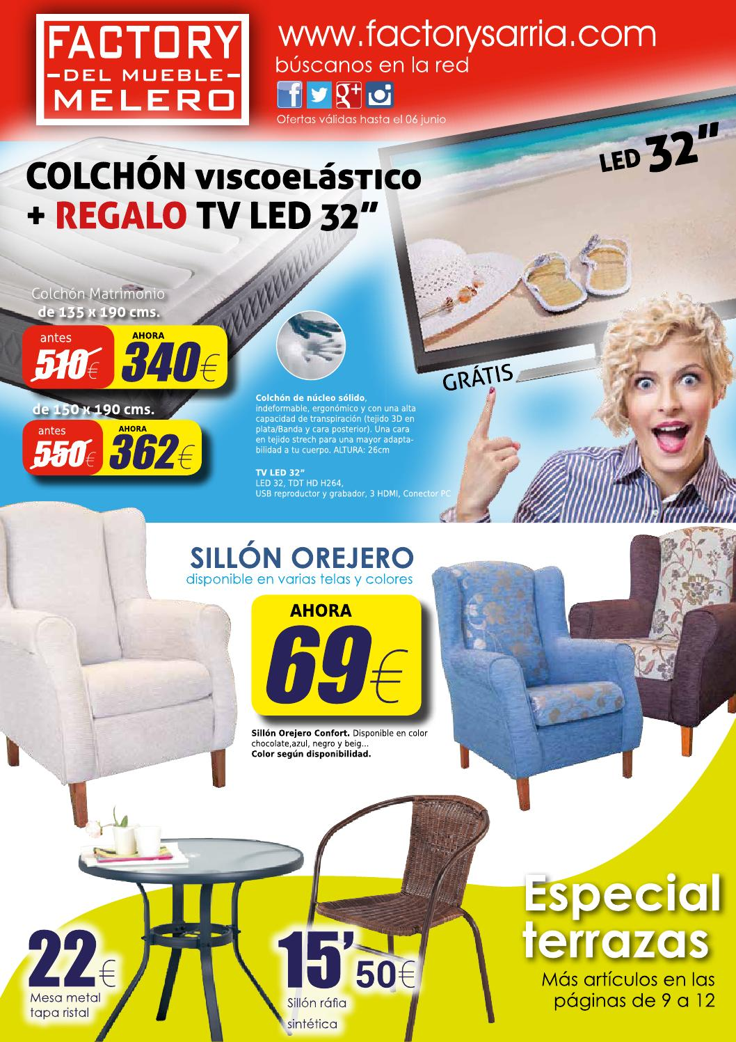 Ofertas factory del mueble melero abril 2015 by factory sarria issuu - Factory del mueble madrid ...