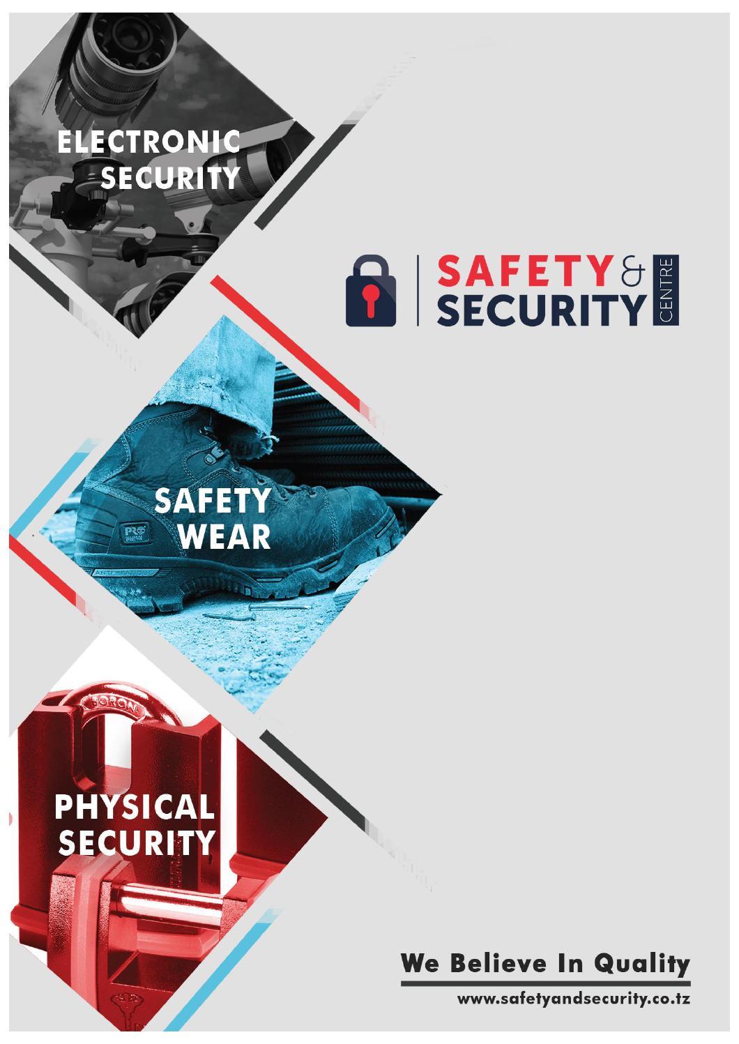 Safety Amp Security Tanzania Company Profile By Sas Issuu