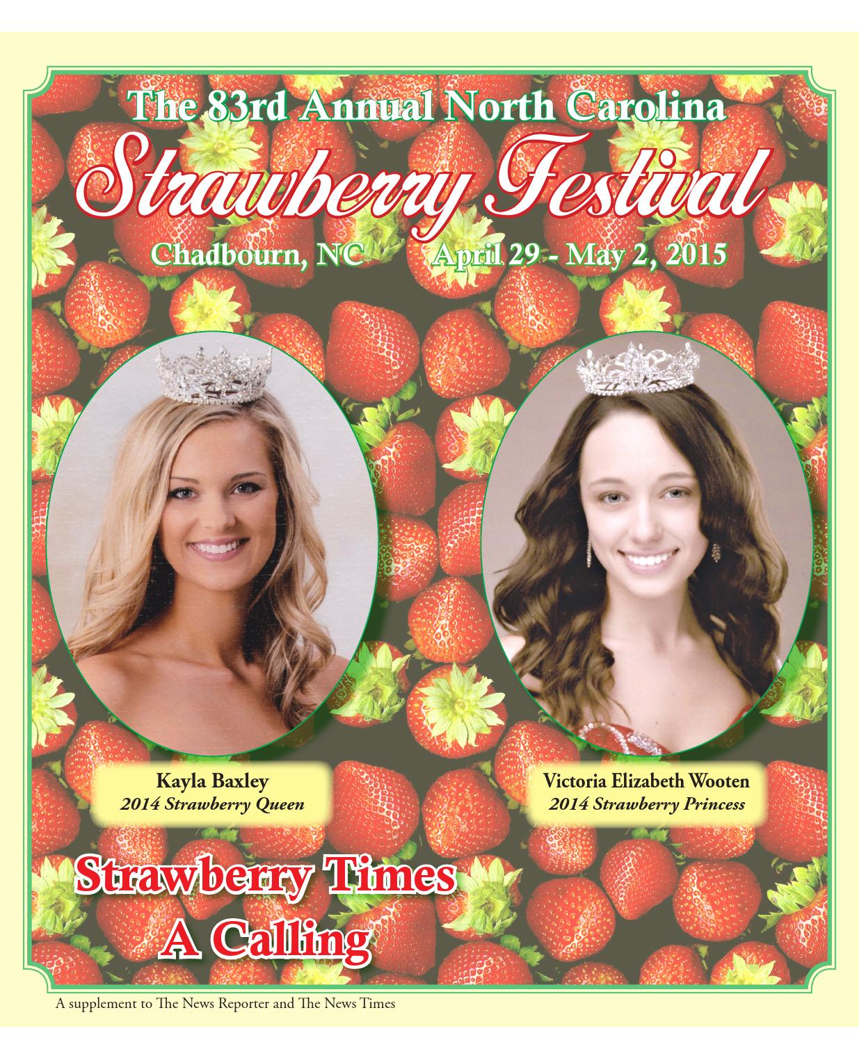 strawberry festival by the news reporter issuu