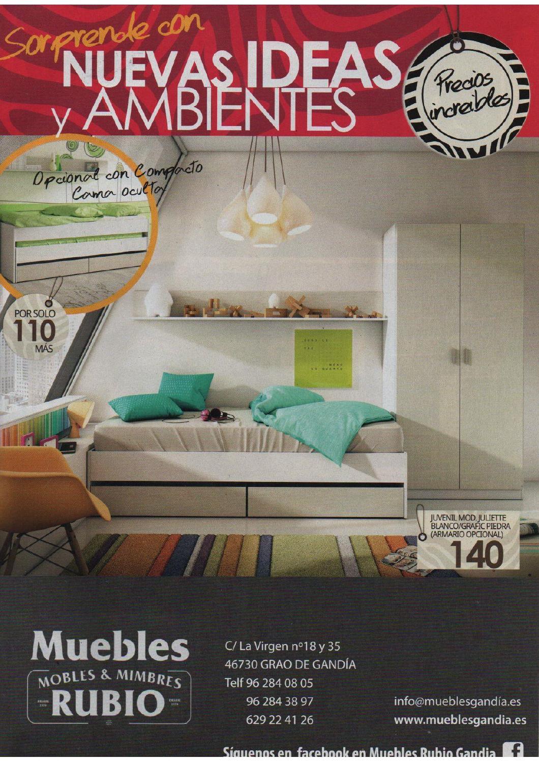 Catalogo nuevas ideas by Muebles & Mimbres Rubio - issuu