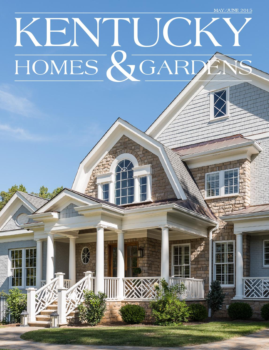 Kentucky homes gardens magazine by kentucky homes for Kentucky home builders