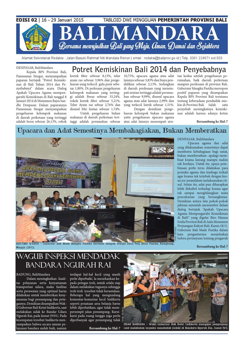 Ba 16 September 2015 By Bali Advertiser Issuu