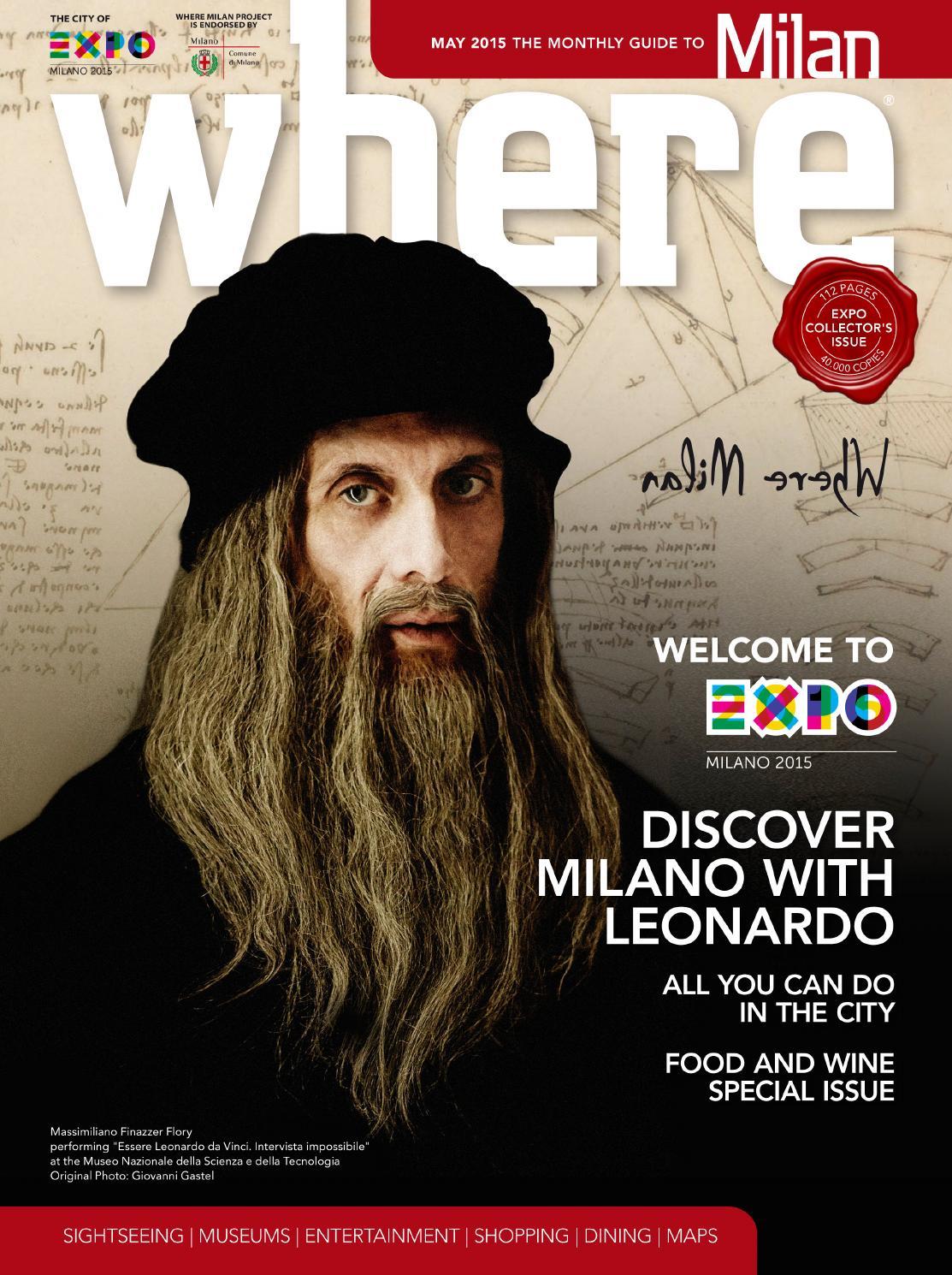 Where Milan n 60 October 2015 by Where Italia - issuu