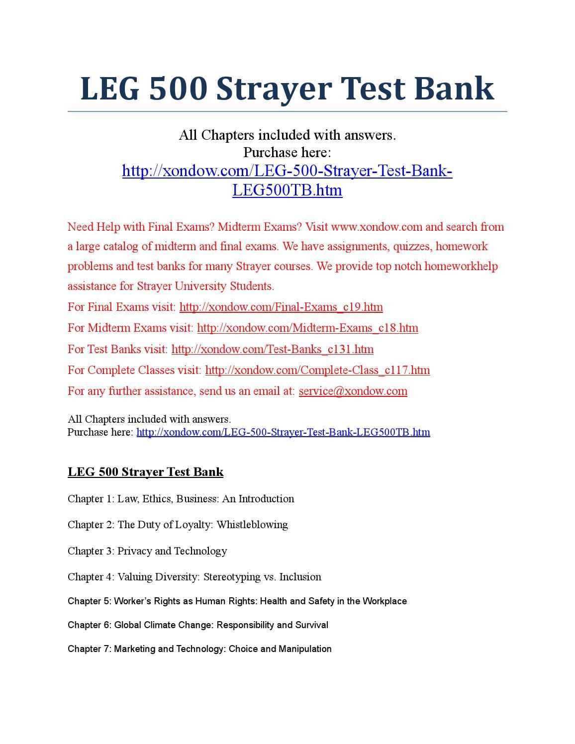 Strayer Cis500 Assignment 1
