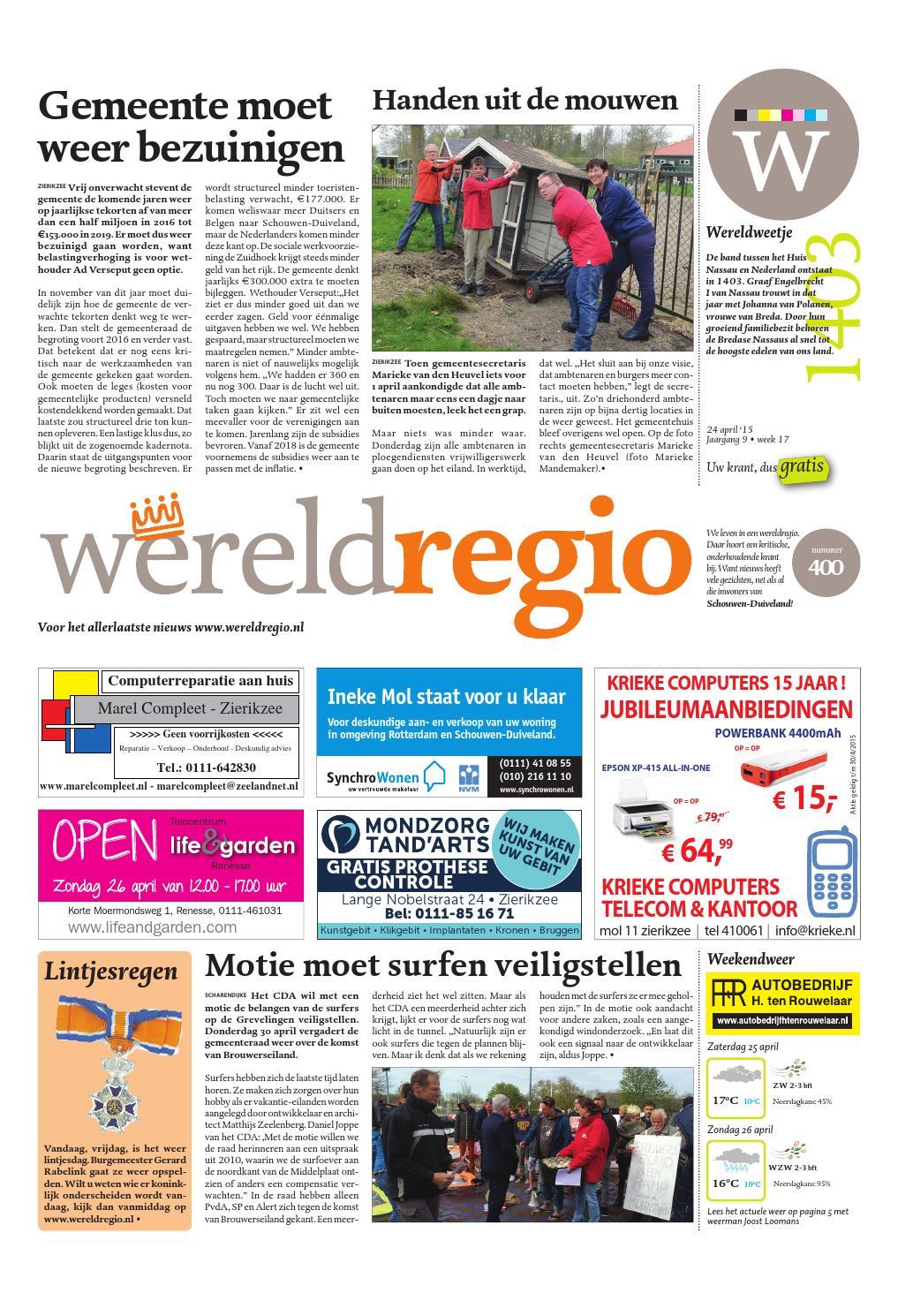 Wereldregio nummer 400 by wereldregio issuu