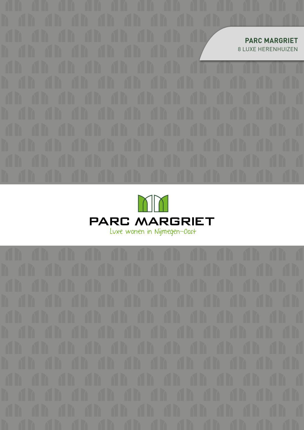 Brochure Parc Margriet - 8 luxe herenhuizen by Beter Wonen In - issuu