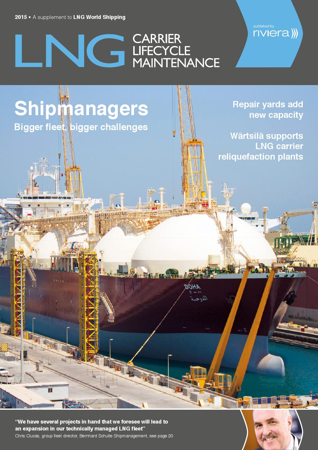 Lng Carrier Lifecycle Maintenance 2015 By Richard Issuu